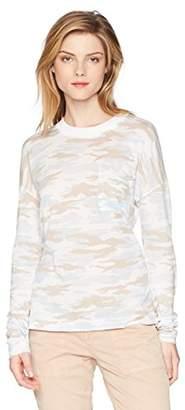 Stateside Women's Camo Oversized Long Sleeve Tee