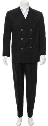 Gianni Versace Striped Wool Two-Piece Suit