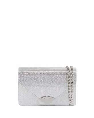 db2d663d283c ... MICHAEL Michael Kors Barbara Medium Envelope Clutch Bag - Silver  Hardware