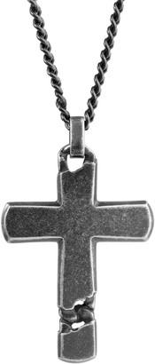 Lynx Men's Stainless Steel Curb Chain Pendant Necklace