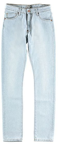 Acne Jeans Hug Blonde Jeans