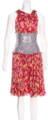 Dolce & Gabbana Embellished Midi Dress