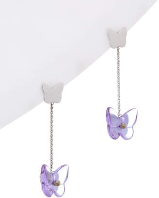 Baccarat Papillon Stem Earrings