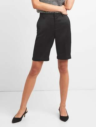 "Gap Mid Rise 10"" Tailored Bermuda Shorts"