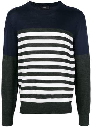 Joseph stripe Novelty knit sweater