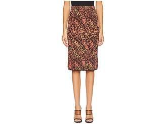 M Missoni Animal Lurex Skirt