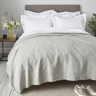 At The White Company Luxury Wool Cashmere Throw