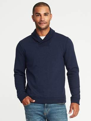 Old Navy Shawl-Collar Fleece Sweatshirt for Men