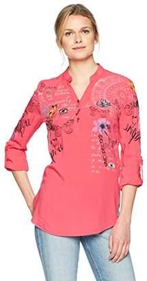 Desigual Women's Loretta Long Sleeve Blouse