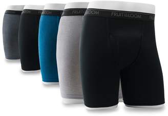 Fruit of the Loom Men's 5-pack Signature Ultra-Soft Boxer Briefs