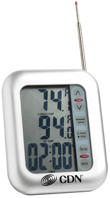 Touch Screen Probe Thermometer-Timer