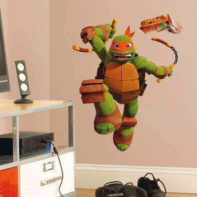 Teenage Mutant Ninja Turtles Mike Giant Peel and Stick Wall Decals