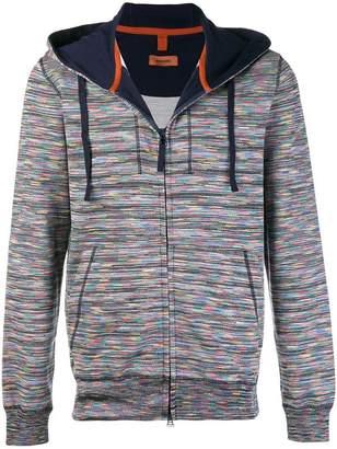 Missoni zip front hoodie
