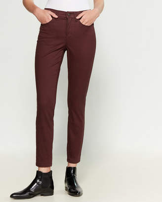 Nicole Miller Ultra Soft Soho High Rise Skinny Jeans