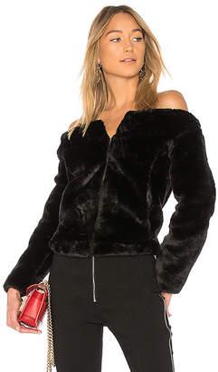 Endless Rose Faux Fur Jacket