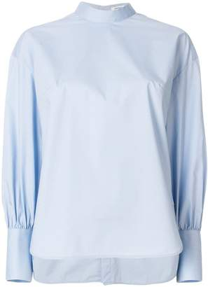 Enfold round neck blouse