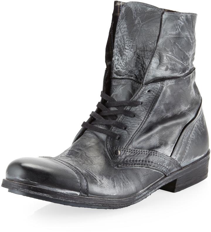 Rogue Bilak Lace-Up Boot, Charcoal