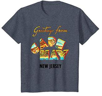 Cape May New Jersey NJ Travel Postcard Greetings T Shirt Tee