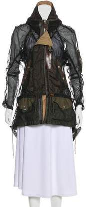 Junya Watanabe Mesh Short Coat
