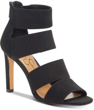 Jessica Simpson Cerina Strappy Stiletto Heel Sandals Women Shoes