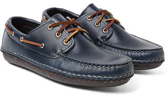 Quoddy Boat Moc Ii Leather Boat Shoes