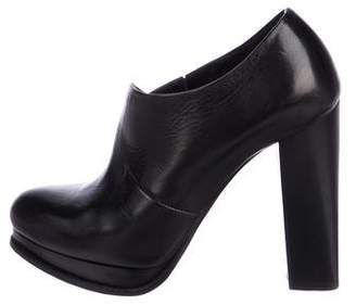 CNC Costume National Takin Leather Booties