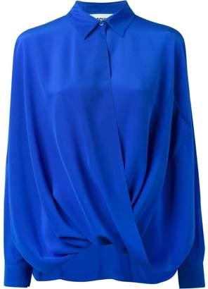 Moschino draped shirt