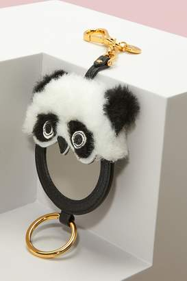 Miu Miu Panda Key Ring with Mirror