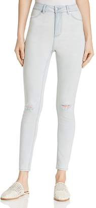 Cheap Monday Distressed Skinny Jeans in Avalanche