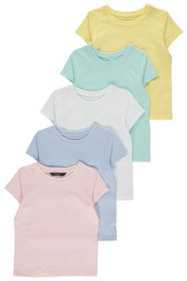 George Short Sleeve T-Shirts 5 Pack