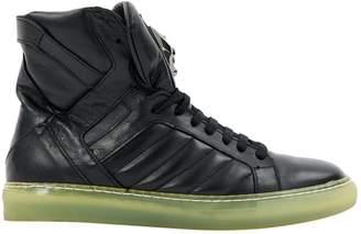 Philipp Plein Leather high trainers
