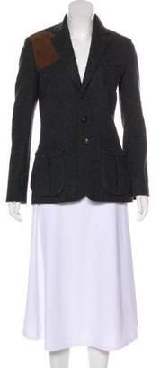 Ralph Lauren Wool Notch-Lapel Jacket