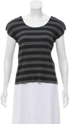 Pleats Please Issey Miyake Plissé Short Sleeve Top