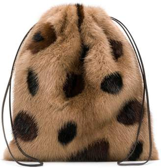 Simonetta Ravizza Furrissima Leo mini backpack