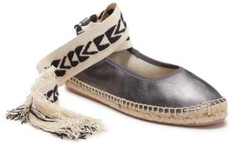 Free People Maya Wrap Espadrille (Women)