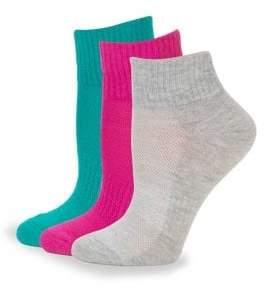 Keds Six-Pack Ribbed Crew Socks