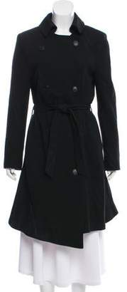 Nina Ricci Wool Double-Breasted Coat