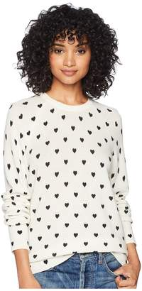 Equipment Sloane Heartfelt Print Women's Long Sleeve Pullover