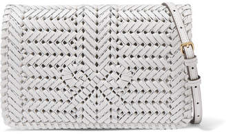 84c55c0eb6 Anya Hindmarch Neeson Woven Leather Shoulder Bag - Off-white