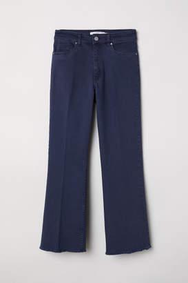 H&M Kick-flare Pants - Blue