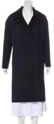 Tibi Virgin Wool Double-Breasted Coat