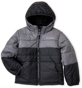 Columbia Boys 4-7) Two-Tone Puffer Jacket