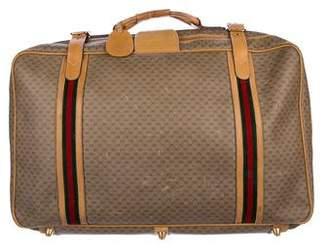 Gucci GG Plus Web Suitcase
