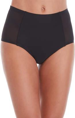 Nicole Miller New York 3-Pack High-Cut Mesh Side Panty Set