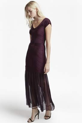 French Connection Rosa Spotlight Off-Shoulder Maxi Dress