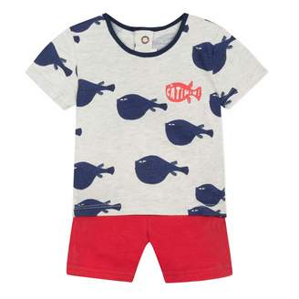 Catimini Baby Boys' CN37040 Clothing Set