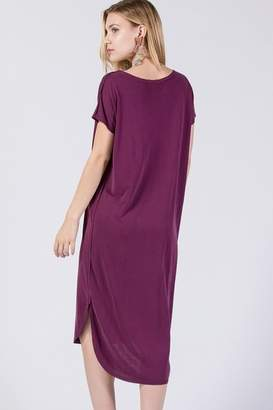 Olivia Pratt Curved Hem Dress