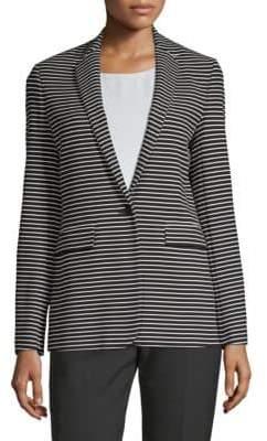 BOSS Kinoki Slim-Fit Striped JerseyJacket