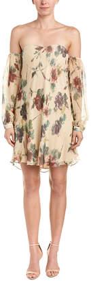 Haute Hippie My Amour Silk Shift Dress