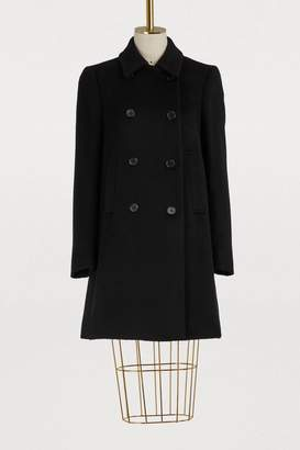 RED Valentino Mohair peacoat